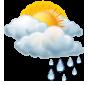 Предимно облачно, слаб дъжд